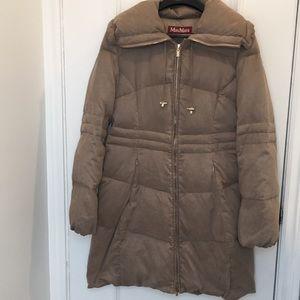 Maxmara Studio Down Feather Coat Size 8